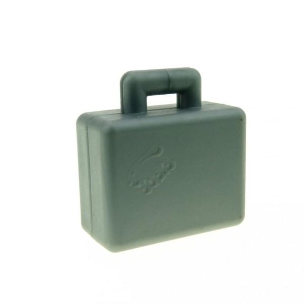 1 x Lego Duplo Koffer silber-grau Figur Zubehör Puppenhaus Möbel Reise Tasche Suitcase für Antarktis Polar 6427