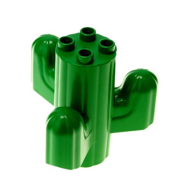 1 x Lego Duplo Pflanze Kaktus grün Baum für Wüste Safari Western Cars Cowboy und Indianer 4580682 31164