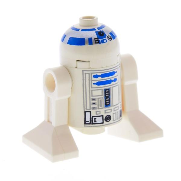 1 x Lego System Figur Star Wars R2-D2 Droid Droide Astromechdroide R2 D2 7191 10144 7680 7171 7190 4502 7660 7140 7669 4475 sw028