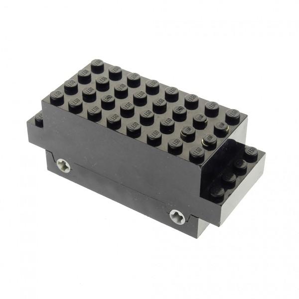 1 x Lego System Electric Motor 9V schwarz 4 x 10 x 3 1/3 Eisenbahn Zug Lok Train Auto Fahrzeug Motor geprüft Set 624 bb129