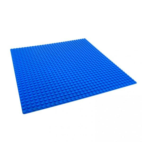 1 x Lego System Bau Platte blau 32 x 32 Noppen 32x32 Wasser Meer Unterwasser Welt 381123 3811