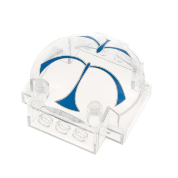 1x Lego Windschutzscheibe transparent weiß Halb Kugel Kuppel Star Wars 30366px1