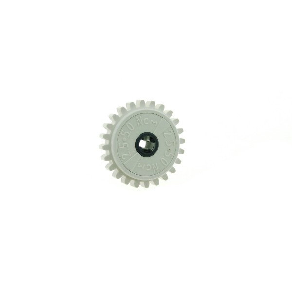 1 x Lego Technic Zahnrad 24 Zähne weiss 2.5 5.0 NcM Rutschkupplung Technik für Set 42055 8479 42042 3804 4270486 76244c01 60c01