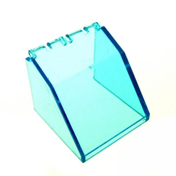 1 x Lego System Windschutzscheibe transparent hell blau 4x4x3 Cockpit Kuppel Fenster 2620