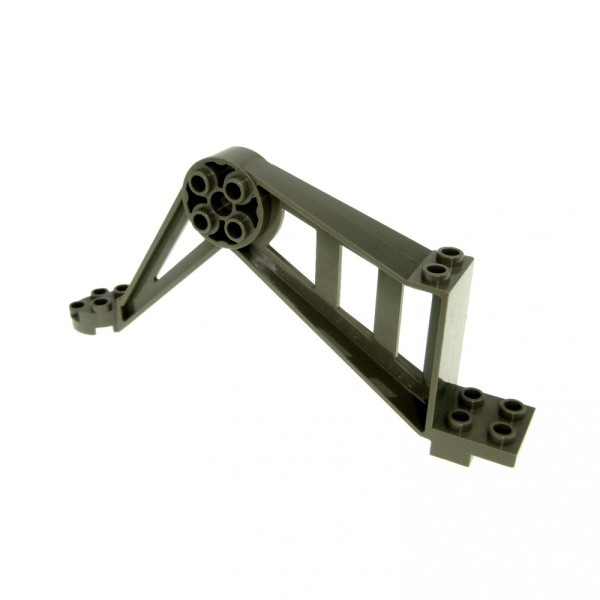 1 x Lego System Stütze alt-dunkel grau Säule Pfeiler Träger Bein Mindstorms Insectoids 6977 6969 9736 6919 30212