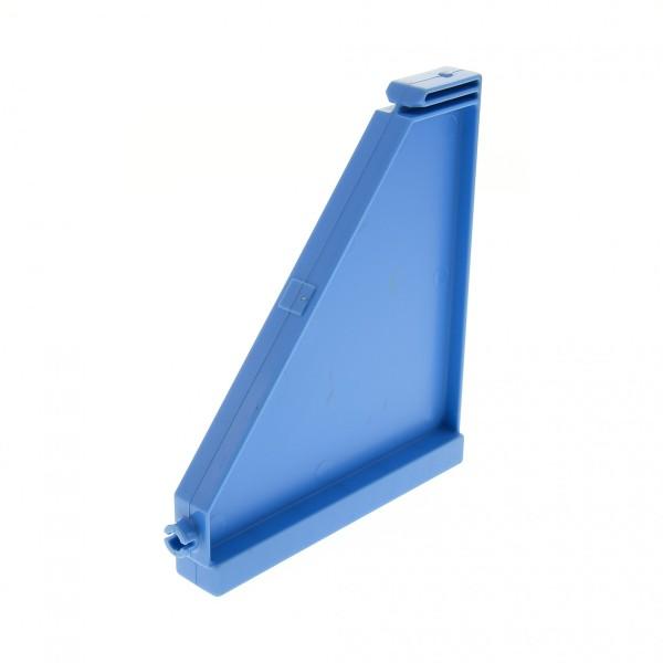 1 x Lego Duplo Dach Seiten Wand B-Ware abgenutzt Medium hell blau Puppenhaus Gebäude Villa für Set 4665 4975 9227 4259904 51383