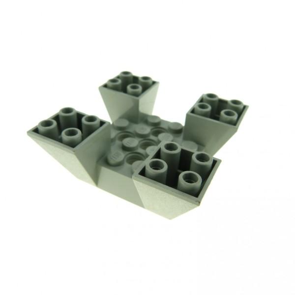 1 x Lego System Mauerteil alt-hell gau 6 x 6 x 2 Mauer Zinnen Turm Burg Castle Star Wars 7190 7163 7151 30373