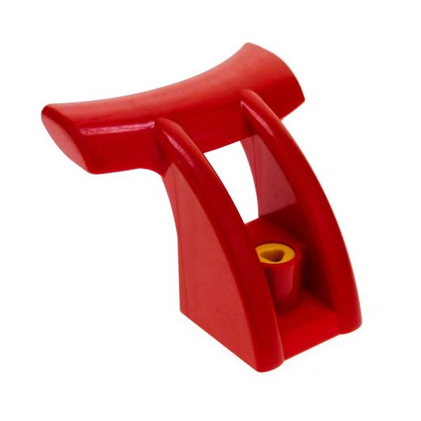 1 x Lego Duplo Toolo Stein Spoiler Diffuser Flügel rot für Set 2916 3586 9203 9206 31239c01