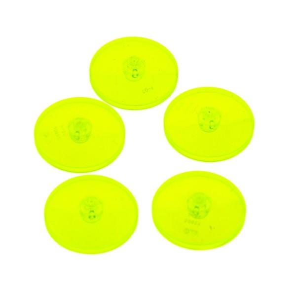 5 x Sat Radar Schüsseln Schild Schirm Mars Mission Weltraum neon grün gelb 4 x 4 30065 Lego A48