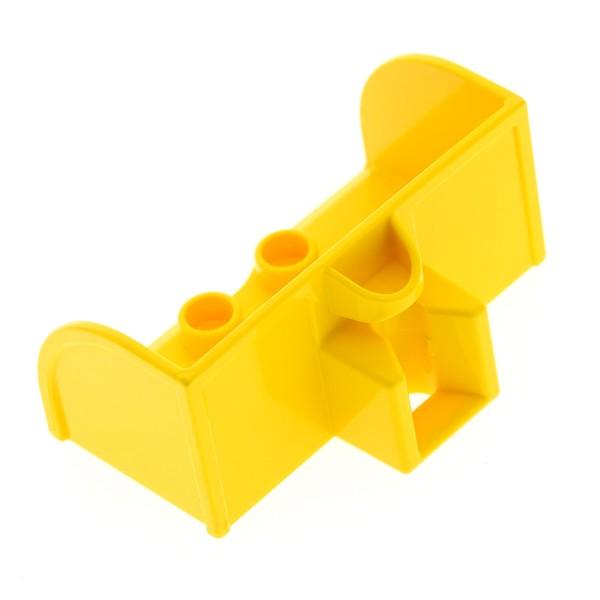 1 x Lego Duplo Traktor Bagger Schaufel gelb Bau Fahrzeug Set 10525 45006 6056433 15579