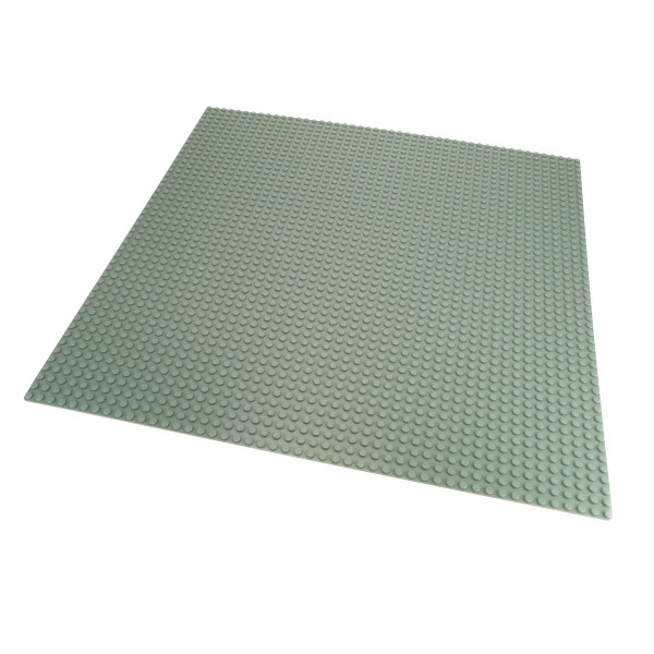 1 x Lego System Bau Basic Platte 48x48 Noppen alt-hell grau 48 x 48 Space Mosaik Mosaic 815 1085 4186