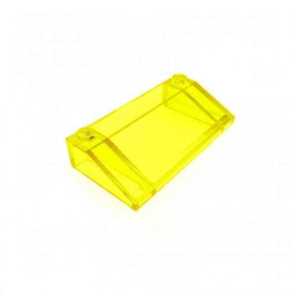 1 x Lego System Windschutzscheibe transparent gelb 3 x 6 windscreen Space Kanzel Cockpit Kuppel Fenster 6985 3939