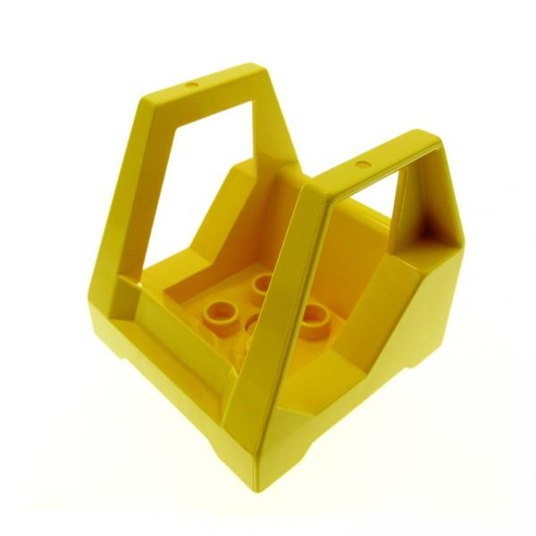 1 x Lego Duplo Toolo Führerhaus gelb Kabine Kanzel Cockpit Bau Stein Fahrzeug Auto Set 2930 9107 9121 6293