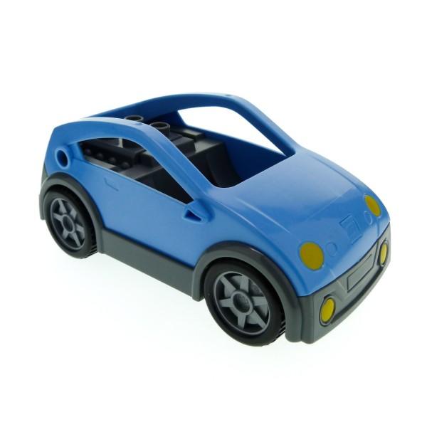 1 X Lego Duplo Auto Medium Hell Blau Neu-dunkel Grau PKW