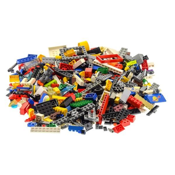 500 Teile Lego System Steine Kiloware Sonderteile Form Größe bunt gemischt 0,70 kg z.B. Räder Platten Fenster