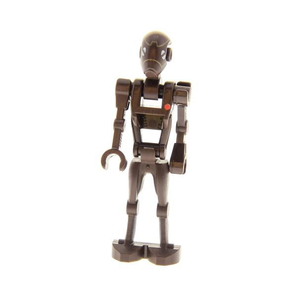 1x Lego Figur Droide Star Wars Commando Droid Torso dunkel braun 98103pb01 sw0359