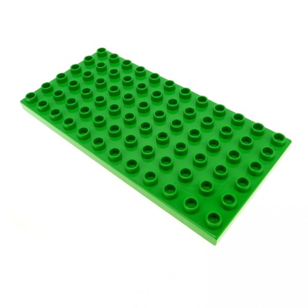 1 x Lego Duplo Bau Basic Platte 6 x 12 bright hell grün 12 x 6 Noppen 6x12 4170991 4196 18921