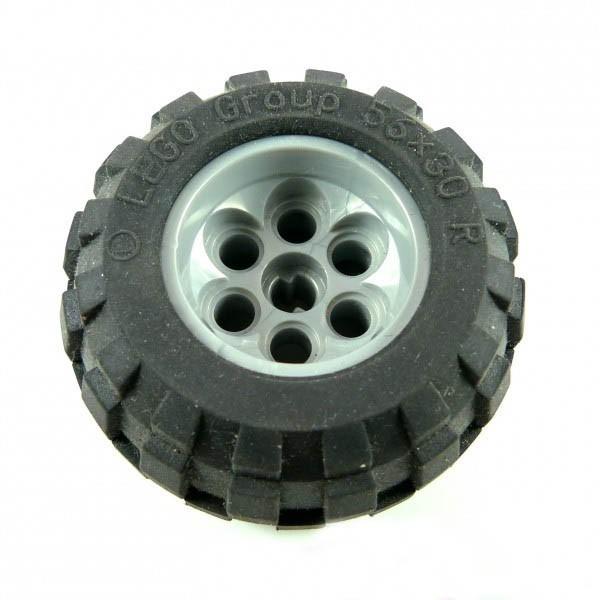 1 x Technic Rad Räder perl silber alt-hell grau Technik 56 x 30 R Lego C52