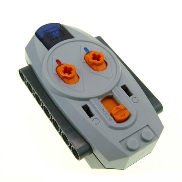 1 x Lego Technic Electric neu-hell grau orange Fernbedienung Infrarot 9V Power Functions IR Remote Fernsteuerung Controller geprüft 8885-1 4506079 58122c01