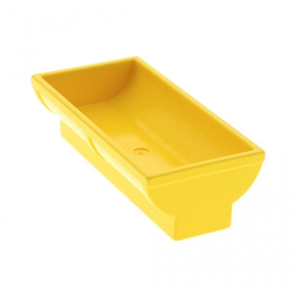 1 x Lego Duplo Möbel Trog gelb 2 x 4 x 2 Pferd Pferde Tier Tränke Bauernhof Puppenhaus Set 9133 9137 9190 488224 4882