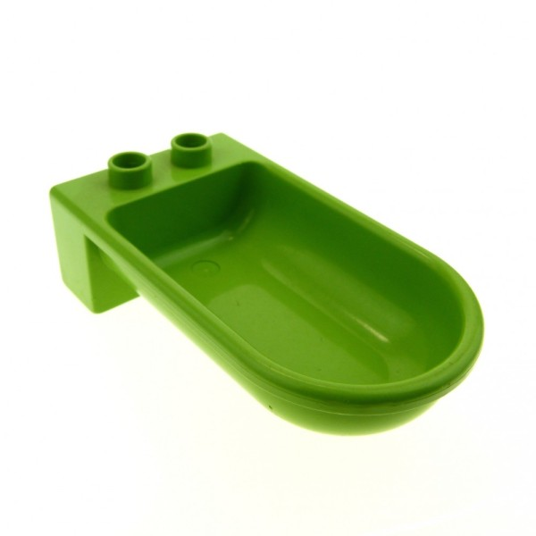 1 x Lego Duplo Möbel Wanne lime grün Badewanne Bad Puppenhaus Badezimmer 6024979 4893
