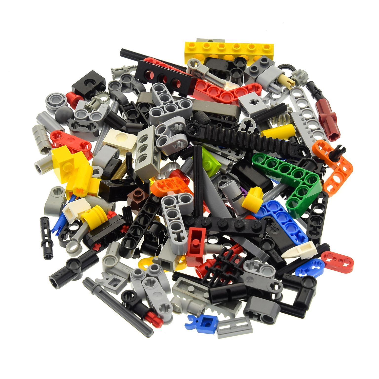 200 LEGO® Technik Kleinteile wie z.B Pins Technic Stecker Verbinder usw