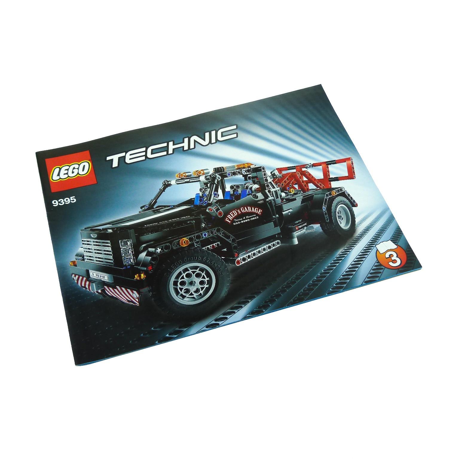 1 X Lego Technic Bauanleitung Nr 3 Für Set Model Traffic