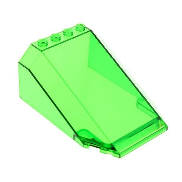 1 x Lego System Cockpit transparent grün 8 x 6 x 3 windscreen Boot Schiff Kanzel Kuppel Fenster 6433 32086 551
