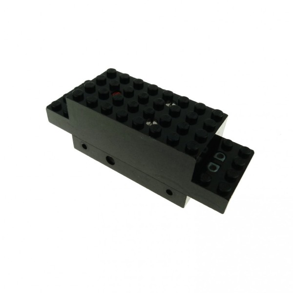 1 x Lego System Electric Motor 4.5V Type II schwarz 12 x 4 x 3 1/3 Eisenbahn Zug Lok Train Motor geprüft x469b