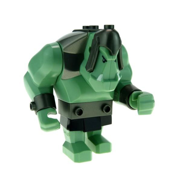 1 x Lego System Fantasy Era - Troll sand grün Figur Riese für Set 7038 cas364