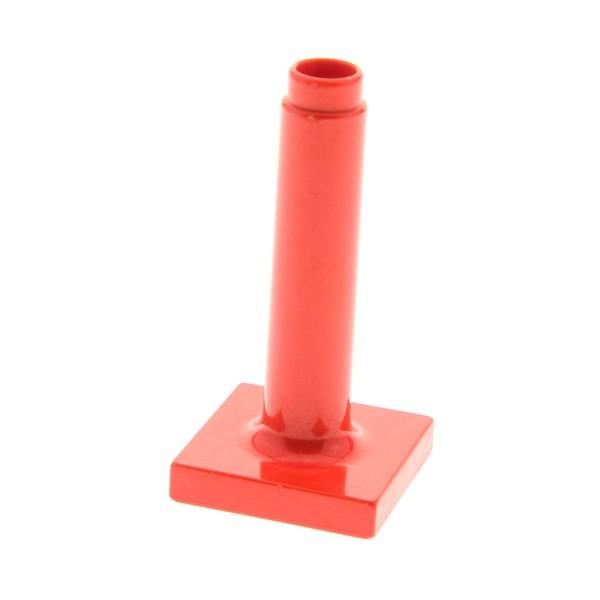 1 x Lego Duplo Möbel Schirm Ständer rot gross hoch Puppenhaus Set 9133 9139 2938 4913