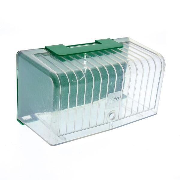 1 x Lego System Fußball Torwart Tor Box Sport grün transparent weiss 30502 30501