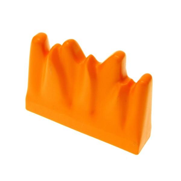 1 x Lego Duplo Pflanze Hecke orange 1x4x2 Strauch Busch Feuer Feuerwehr Set 3655 3567 4143615 91348 31168