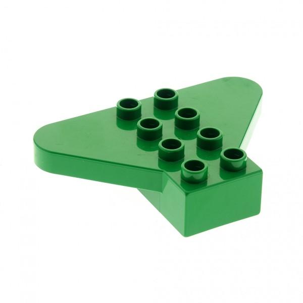 1 x Lego Duplo Flügel Stein grün 2x4 Flugzeug Baum Krone Little Friends Set 9129 31215