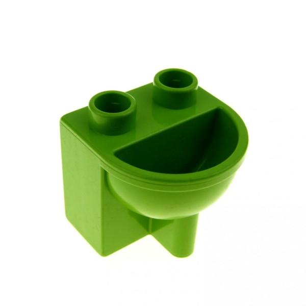 1 x Lego Duplo Möbel Waschbecken lime grün Puppenhaus Badezimmer Bad 4622408 4892