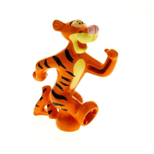 1 x Lego Duplo Tigger B-Ware abgenutzt Winnie the Pooh Figur Tiger Tier Puh Bär tigger