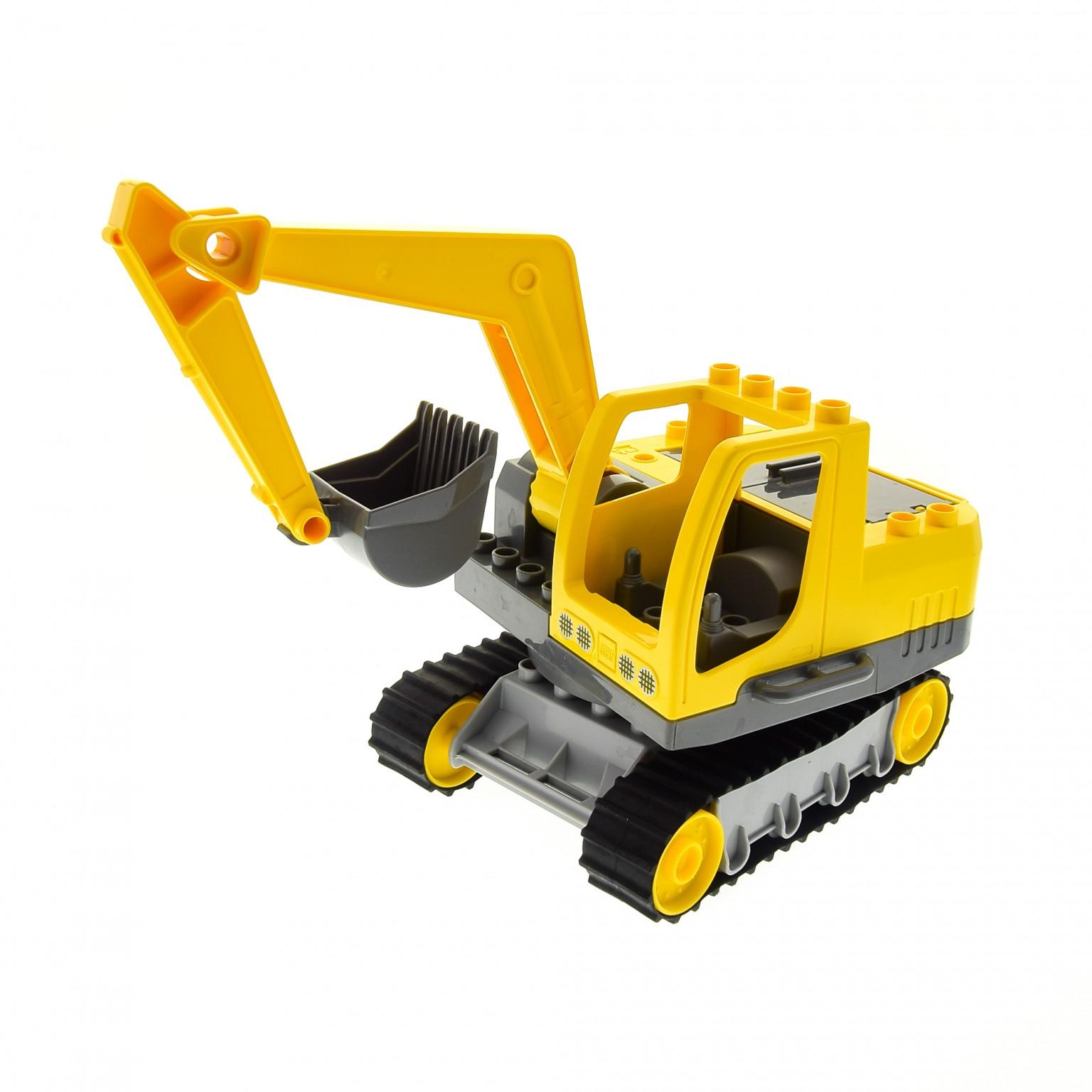 Lego ® Duplo Ville Set 4986  Raupenbagger Baustelle Bagger  vollständig