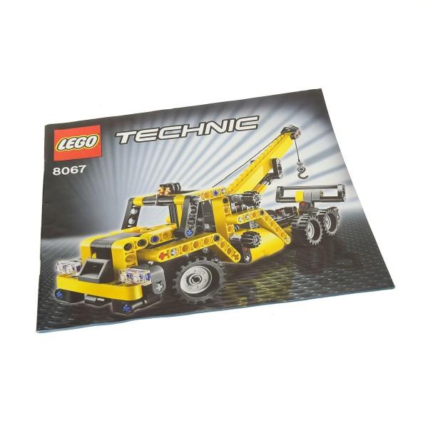 1 x Lego Technic Bauanleitung Heft 2 Model Construction Abschleppwagen 8067