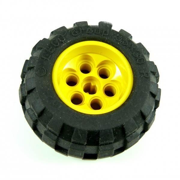 1 x Technic Rad Räder gelb Technik 56 x 30 R Lego