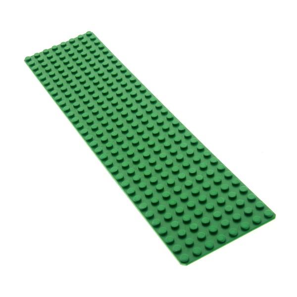 1 x Lego System Bau Platte grün 8x32 Wiese Rasen Grund Basic 32 x 8 Set 6337 6472 1254 6397 4187