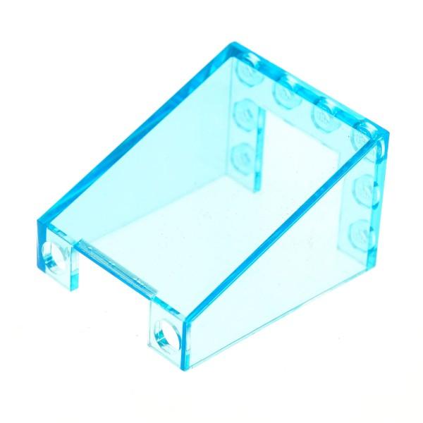 1 x Lego System Windschutzscheibe transparent hell blau 3 x 4 x 4 Auto Kran Star Wars Kanzel Cockpit Kuppel Fenster Set 7894 6571 4176 4872