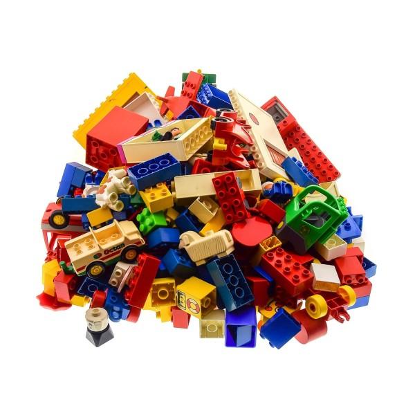 4 Kg Lego Duplo Kiloware Steine B-Ware Sondersteine Figuren Tiere Autos Wandteile zufällig bunt gemischt