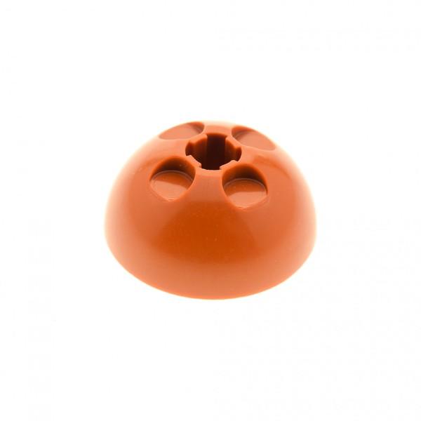 1 x Lego System Zylinder Hemisphere dunkel orange Kugel Turm Kuppel 3x3 Technic Set 4478 4767 44359