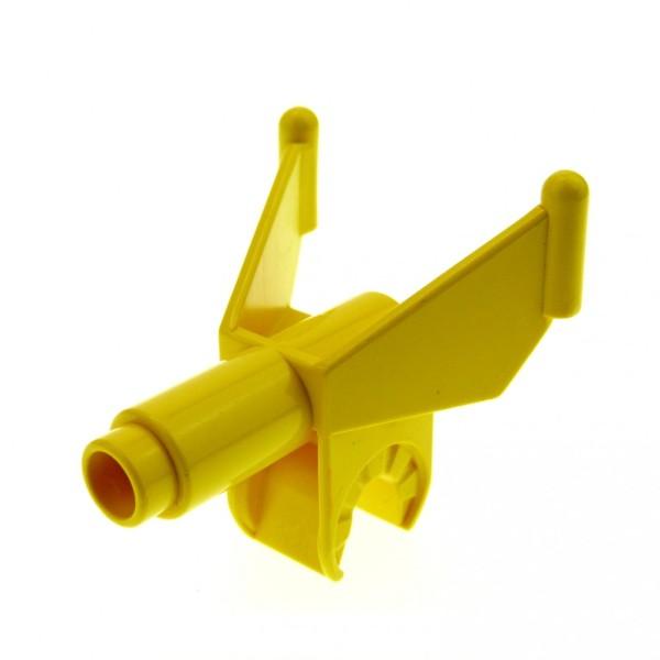 1 x Lego Duplo Toolo Stein Löschpistole gelb Wasser Spritze Kanone 6363