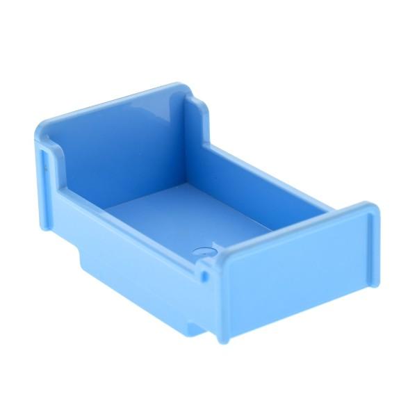 1 x Lego Duplo Möbel Bett hell blau 3x5x1 2/3 Schlafzimmer Puppenhaus Winnie The Pooh 6154 9231 4223920 76338 4895
