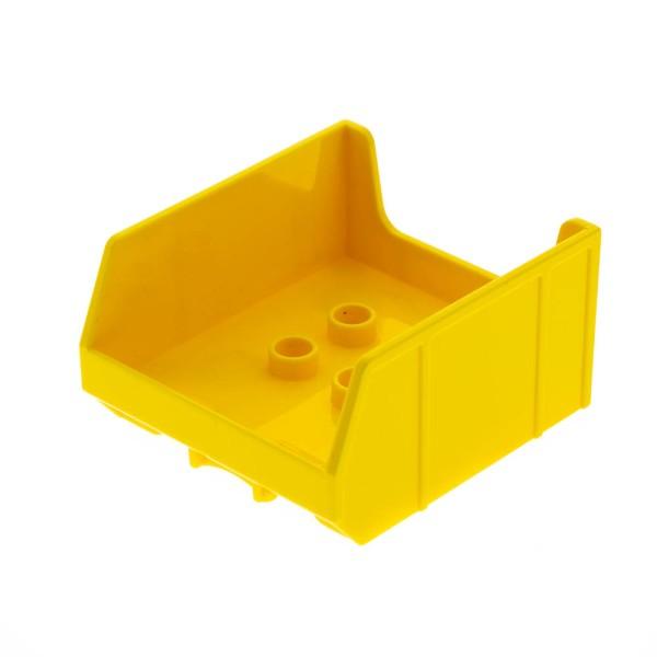 1x Lego Duplo LKW Aufsatz gelb Kipp Lade Baustelle Auto 10529 6036780 14094