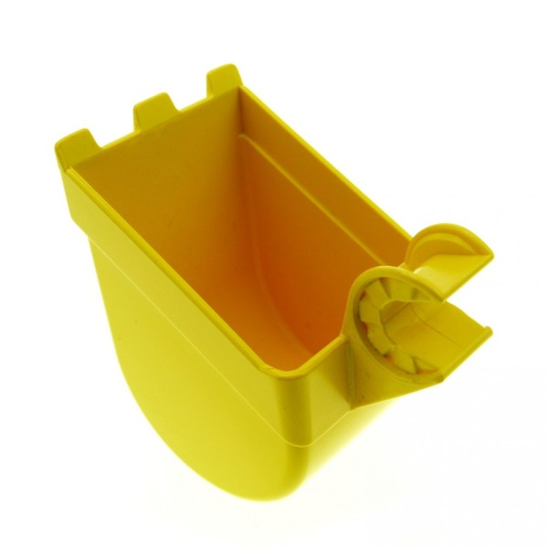 1 x Lego Duplo Toolo Bagger Schaufel gelb Stein Baustelle 16310