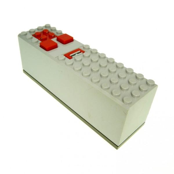 1 x Lego Technic Batteriekasten alt-hell grau 4x14x4 Elektrik Box Fernbedienung Technik Electric 9 V 9633 4094 9607 8064 2847c01