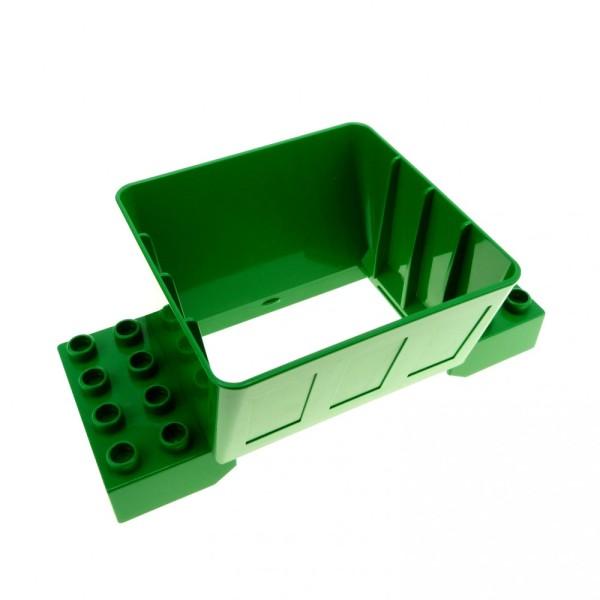 1 x Lego Duplo Kugelbahn Trichter 2x4 grün für Schütte Eisenbahn 3266 2933 4129959 31025