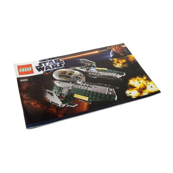 1 x Lego System Bauanleitung A5 für Star Wars Episode 3 Anakin's Jedi Interceptor 9494